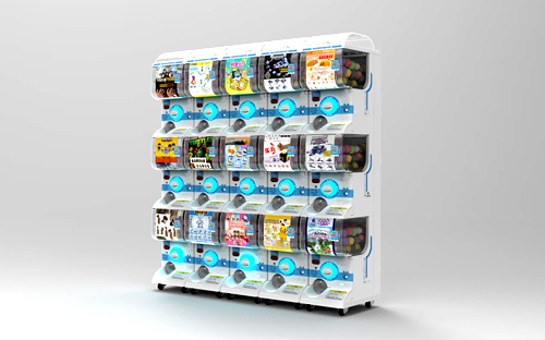 日本扭蛋机 日本同款扭蛋机多少